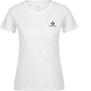 Converse T-shirt col rond imprimé devant, pur coton Blanc - Taille L;M;S;XL