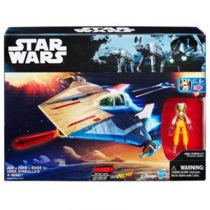 Hasbro Hera Syndulla's A Wing - Vaisseau Star Wars Nerf