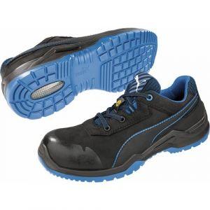 Puma Safety Chaussure de sécurité 644220, ESD,S3,Gr.46,noir/bleu - SAFETY