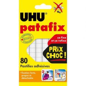 UHU 80 pastilles de Patafix blanche