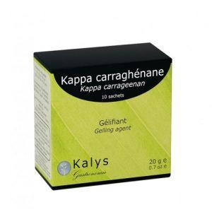 Kalys Gastronomie Kappa carraghénane - Gélifiant (10 x 2g)