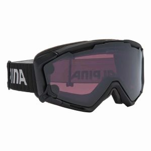 Image de Alpina Panoma Magnetic Q+s L40 QL/CAT1 + SL Black - Masque de ski