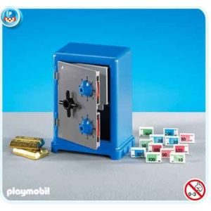 Playmobil 7446 - Coffre fort