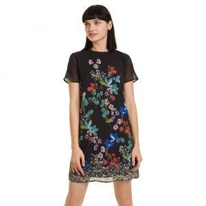 Desigual Robe courte LORETHA Multicolor - Taille FR 36,FR 38,FR 40,FR 42,FR 44