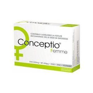 Laboratoire des Granions Conceptio femme, 30 capsules + 30 gélules
