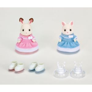 Epoch Sylvanian Families 5258 - Les amies patineuses