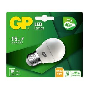 GP Batteries GP Lighting LED Mini Globe E27 6W (40W) 470 lm