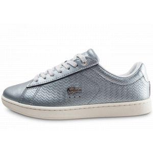 Lacoste Basket mode sneakerbasket mode sneakers carnaby gris blanc 40