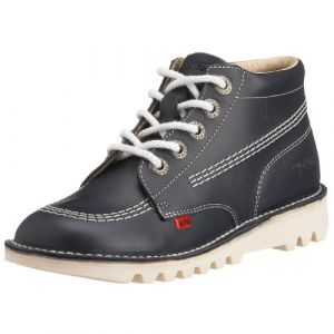 Kickers Chaussures Enfant Kick Hi - Bleu Marine - UK 4 Youth/EU 37 - Navy