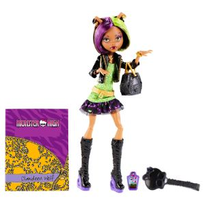 Mattel Monster High Clawdeen Wolf cheveux courts Photo de classe
