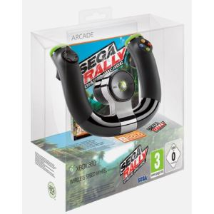 Microsoft Pack Wireless Speed Wheel + Sega Rally + XBox 360 Live 3 mois