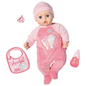Baby annabell Interactive 43 cm + 3 accessoires