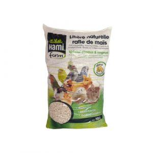 Hamiform Litière naturelle en rafle de maïs 10L