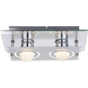 Globo Applique DEL 8 watts luminaire mural lampe miroir verre chrome éclairage LED