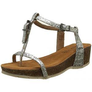 Image de LPB Shoes Sandales KISS Argenté - Taille 38,39,40,41