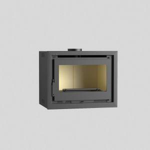 Fm IT-180 - Insert de cheminée 12,5 kw avec porte en fonte