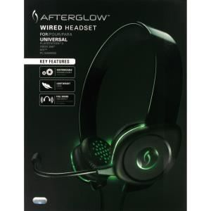 PDP Afterglow Wired Headset pour PS3, PC et Xbox