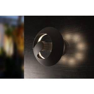 Lutec Applique murale LED extérieure ECO-Light Spril LED intégrée anthracite