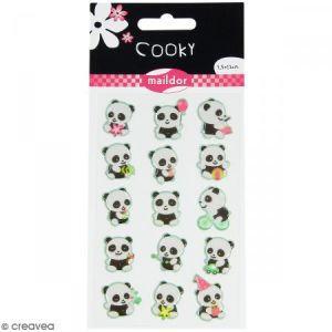 Maildor Stickers Panda - Cooky