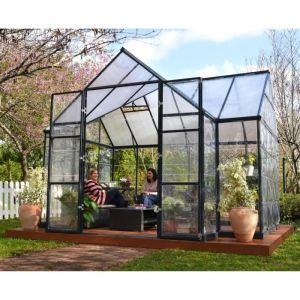 Chalet et Jardin Orangerie - Serre en alu et polycarbonate 11 m2