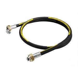 Kärcher Flexible haute pression, 1,5 m, DN 8, avec raccords, sortie courbée - 6.388-886.0