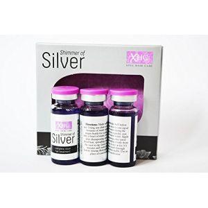 XHC Shimmer of Silver Gift Set - Toning Shampoo + Conditioner + Treatment Shots
