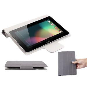 """Duragadget Etui couverture résistant d'inspiration Smart Cover pour tablette Polaroid Rainbow 7"""""""