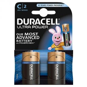 Duracell Ultra Power C Alcaline 2 piles