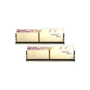 Image de G.Skill Trident Z Royal 16 Go (2x 8 Go) DDR4 3200 MHz CL14 - Or