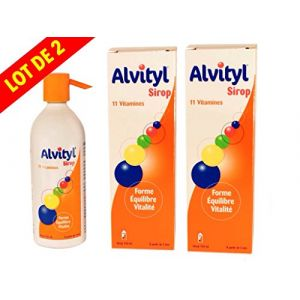 Alvityl Sirop - Solution Multivitaminée 150 ml - Lot de 2 Flacons