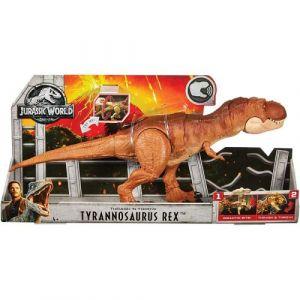 Mattel Figurine Jurassic World T-Rex Attaque