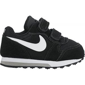 Nike MD Runner 2 (TD), Sneakers Basses Bébé Garçon, Noir (Black/White-Wolf Grey 001), 25 EU