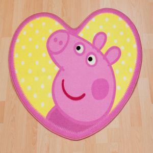Character World Tapis descente de lit Peppa Pig (64 x 84 cm)