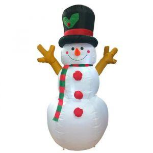 Arthur - Bonhomme de neige gonflable et lumineux
