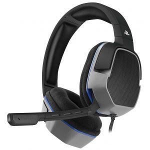 Afterglow PDP LVL 3 - Micro-casque Gaming Noir Licencié Sony pour PS4
