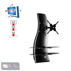 Meliconi Ghost Design 2000 Rotation - Meuble TV mural orientable