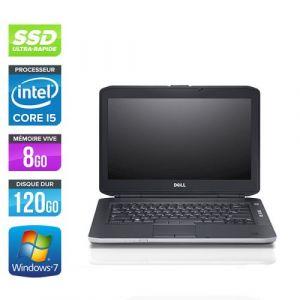 Dell Latitude E5430 - 14'' - Intel Core i5 3320M / 2.60 GHz - RAM 8 Go - SSD 120 Go - DVD - HDMI - Gigabit Ethernet - Wifi - Windows 10 Professionnel