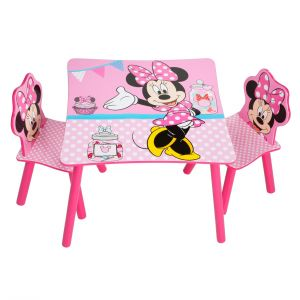 Room Studio Ensemble table et chaises Disney Minnie