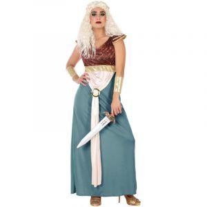 Déguisement Femme Princesse Guerrière - Taille XL