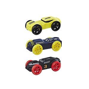 Image de Hasbro Nerf Nitro - Coffret de 3 recharges (jaune, bleu, noir)