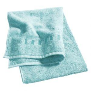 Esprit Lot 4 gants de toilette 16x21 cm uni bleu
