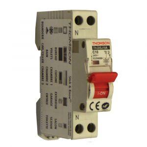 Thomson Disjoncteurs à vis PH+N - 10A NF