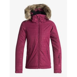 Roxy Jet Ski Embossed - Veste de Snow - Fille 8-16 Ans - Rouge