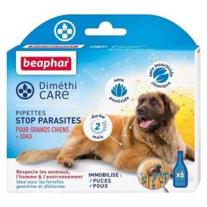 Beaphar Diméthicare - Stop Parasites 6 pipettes pour chien > 30 kg