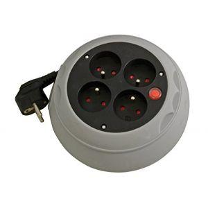 Gefom Enrouleur 4 prises 16A - T compact 2m câble 3G1mm²
