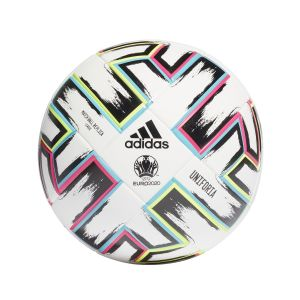 Adidas Ballon de football UEFA Coupe d'Europe 2020 Uniforia Match Ball Replica League Blanc / Noir - Taille 5