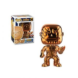 Funko Figurine Pop - Collection Marvel Infinity War - Thanos Orange Chrome Exclusive - 10cm