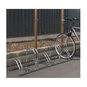 Mottez Râtelier range 3 vélos sur 2 niveaux B129V3