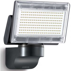 Steinel 029692 XLED home 1 SL4000K- Nouveau Projecteur LED sans détection, Spot LED d'une puissance de 14,8 Watt et luminosité de 1020 lm, Éclairage extérieur avec 4000K couleur de la lumière, IP44Blanc