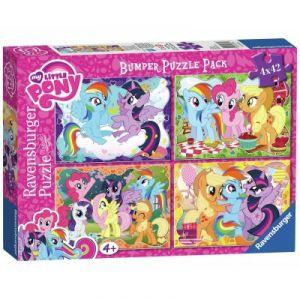 Ravensburger My Little Pony - 4 puzzles 42 pièces